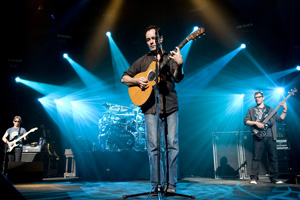Dave Matthews Band performing at Saratoga Performing Arts Center
